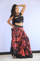 Shriya Vyas in a Tight Backless Sleeveless Crop top and Skirt 82.JPG
