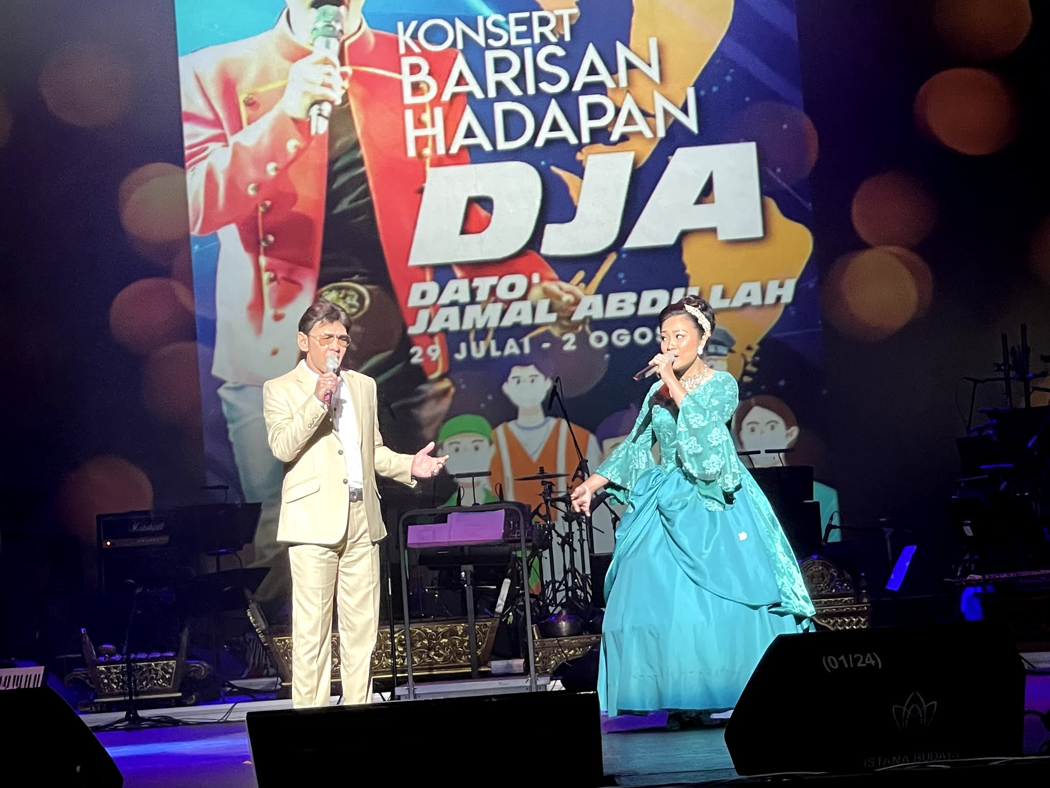 DATO' JAMAL ABDILLAH SERI PROGRAM ISTANA BUDAYA 2021 DENGAN NORMA BAHARU