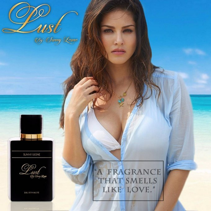 Sunny Leone Stunning Hot Poses for Lust Perfume
