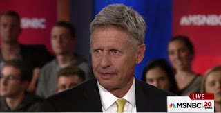 Asked to name his favorite foreign leader, or any foreign leader he admires, Libertarian nominee for president Gary Johnson was unable to come up with an answer.