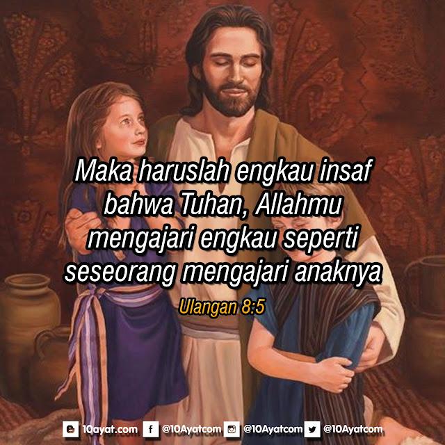 Ulangan 8:5