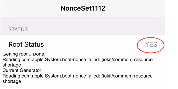 NonceSet1112 – Set Nonce on iOS 11 1 2 Firmware