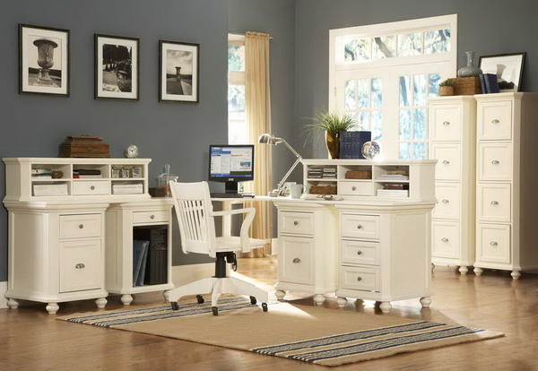 White Modular Home OFFICE FURNITURE Collections UK  Best Office