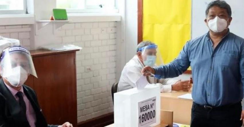 ONPE fija horario diferenciado para la jornada electoral en el extranjero