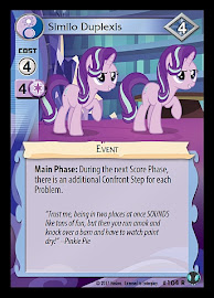 My Little Pony Similo Duplexis Defenders of Equestria CCG Card
