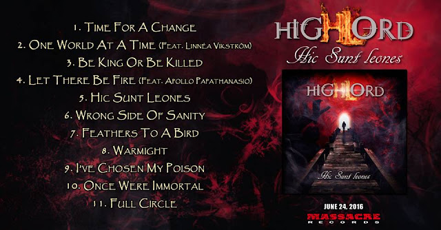 Detail from Highlord New Album, Hic Sunt Leones, Detail from Highlord New Album Hic Sunt Leones