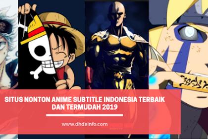 Situs Nonton Anime Subtitle Indonesia Terbaik Dan Termudah 2019