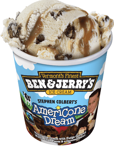 The Not So Dangerous Adventures Of An Autodidact Low Carb Americone Dream Ice Cream Ben & jerry's churned up this euphoric creation in honor of the late show funnyman. the not so dangerous adventures of an autodidact blogger