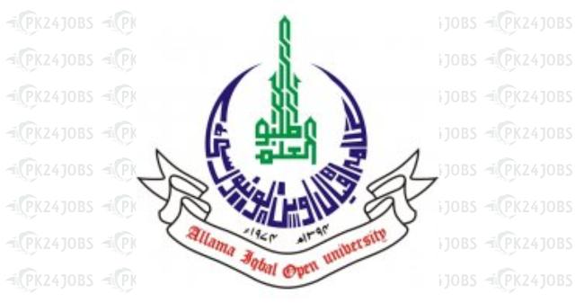 Latest Allama Iqbal Open University AIOU Jobs 2020