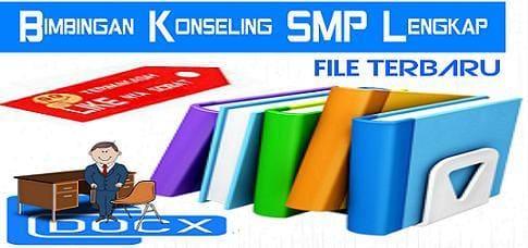 Download File Terbaru Bimbingan Konseling SMP Lengkap