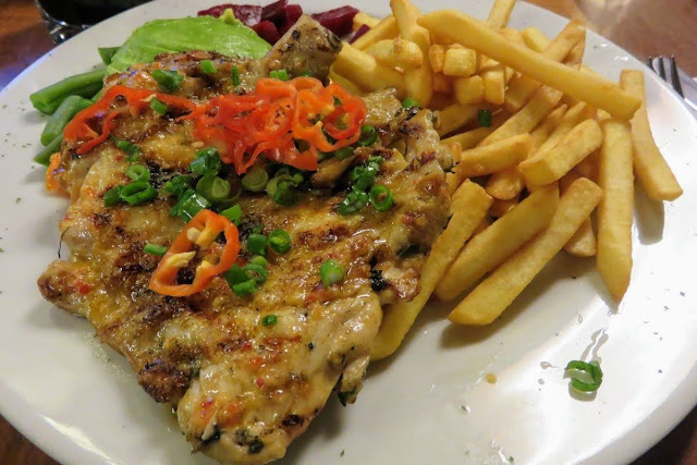 Food in Peru: Pollo a la Brasa from Pardo's Chicken in Lima