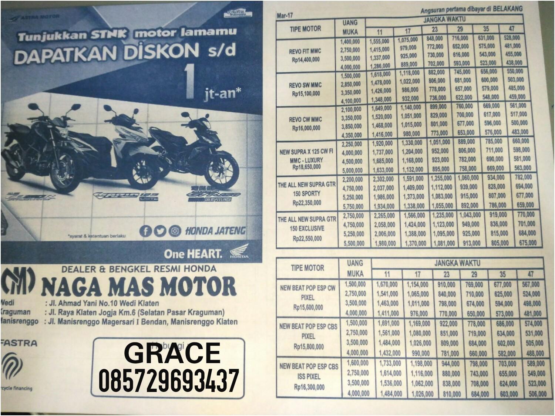 Grace Nagamas Motor Klaten Tengah 2017 All New Vario 150 Esp Exclusive Matte Blue Daftar Harga Honda Terbaru Maret Yg Berlaku Di Pos Kraguman Tersebut Atas Merupakan On The Roadotr