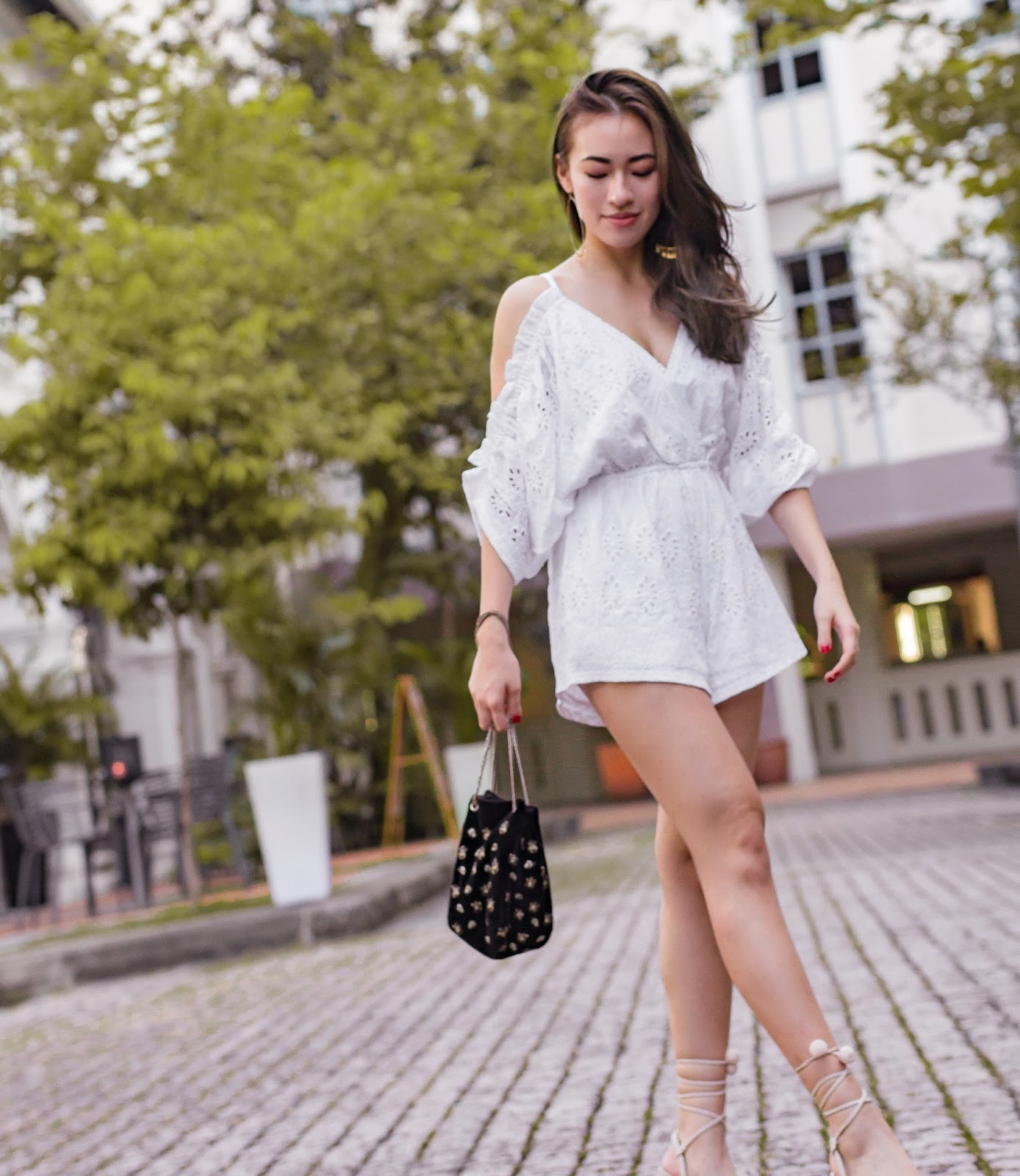 4798f0a13714 This gorgeous romper from Lovers + Friends is so effortless! Simply throw  it on with a pair of heels to look dressy or pair it with a pair of  sneakers to ...