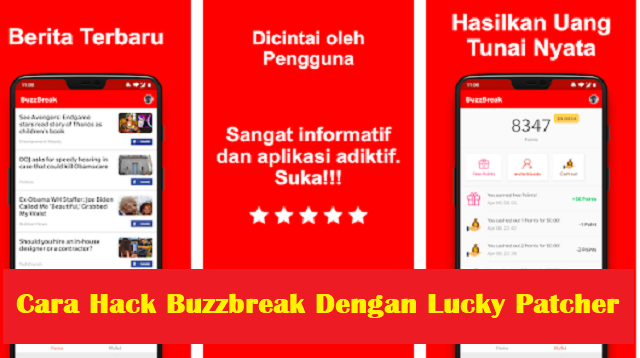 Cara Hack Buzzbreak Dengan Lucky Patcher