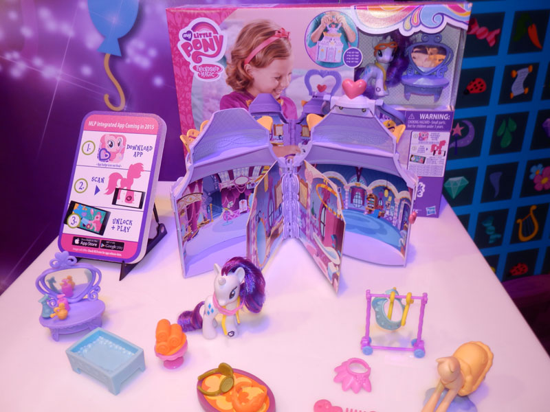 Rarity's Boutique Playset at NY Toy Fair 2015