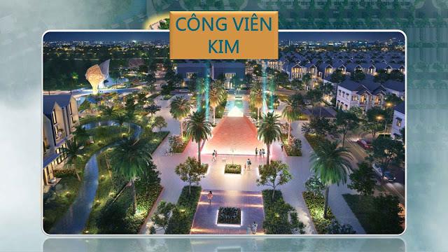 Công viên Kim - dự án The Fusion