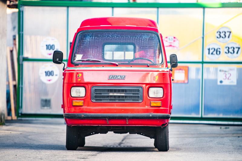 "1978 Fiat 900T ""Garage Francorchamps"" Service Van"