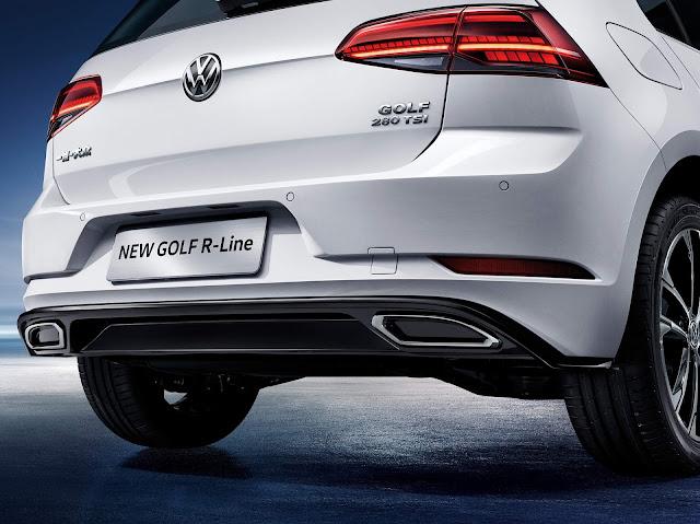 VW Golf R-Line 280 TSI 2019