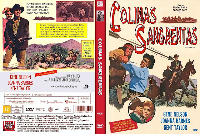 Capa DVD Colinas Sangrentas