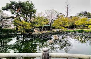 Bridge in Maruyama Park, Kyoto