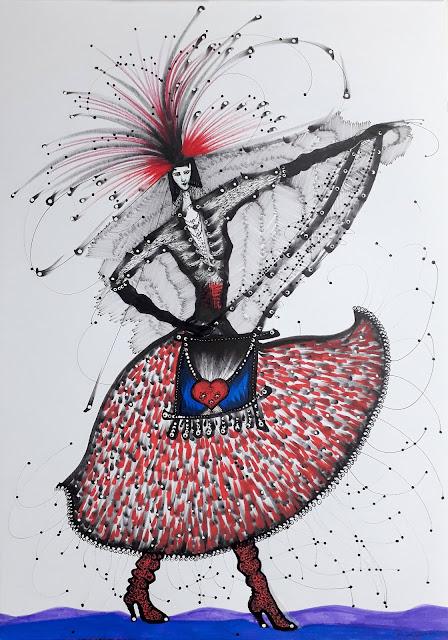 Ines de la Fressange 2019 by Renata Solimini