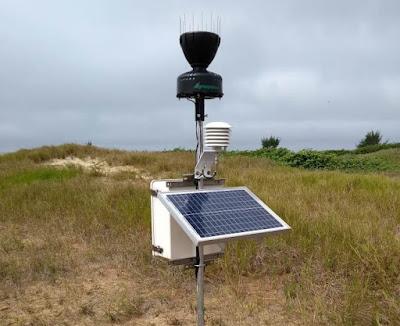Ilha Comprida conta com Estação Meteorológica Automática