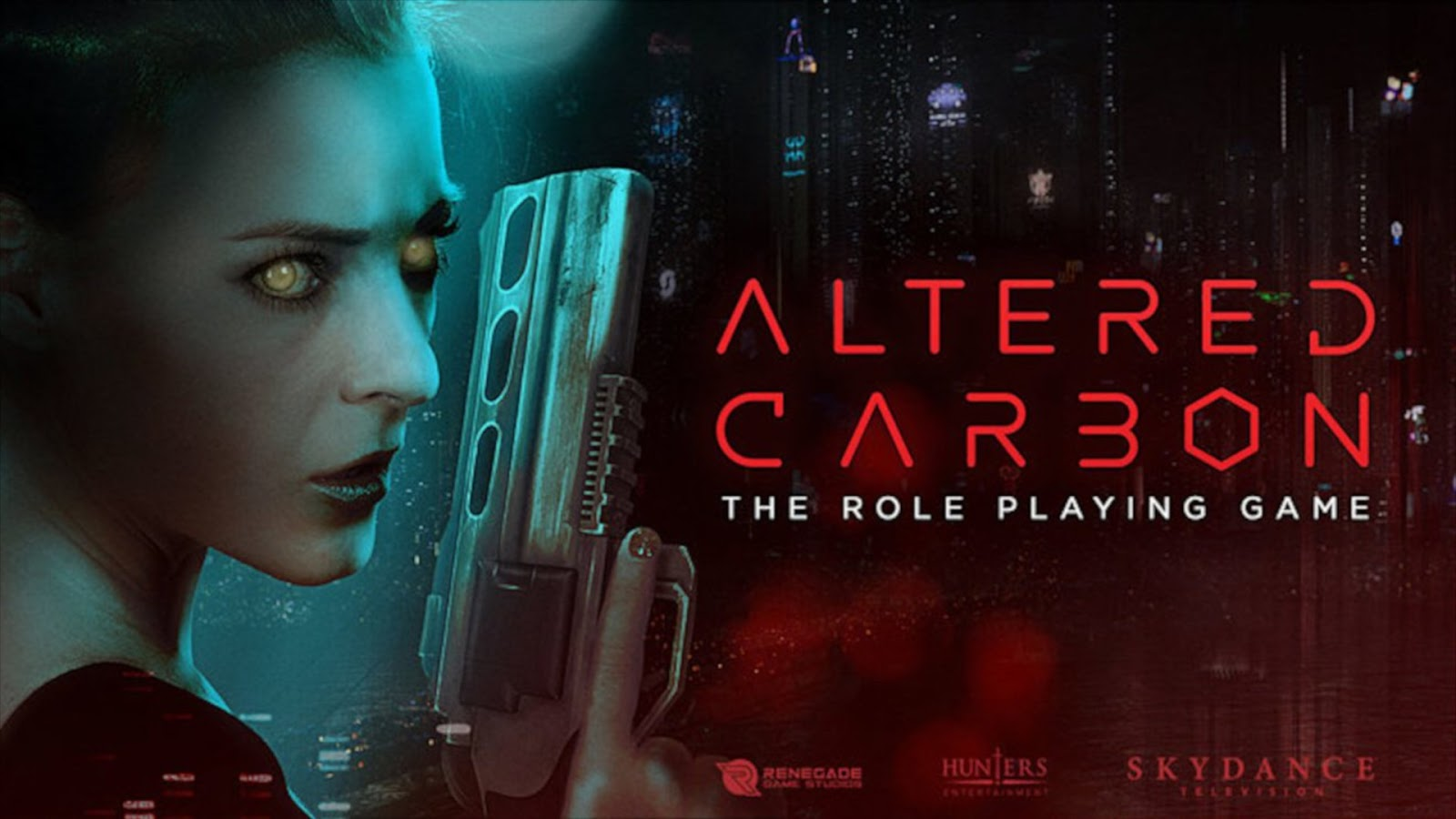 Altered Carbon Roleplay Game RPG Board Game News