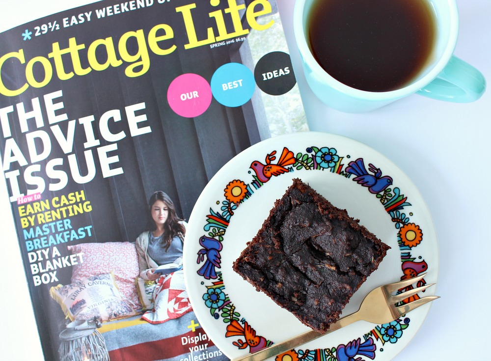 Cottage Life Magazine and a Brownie!
