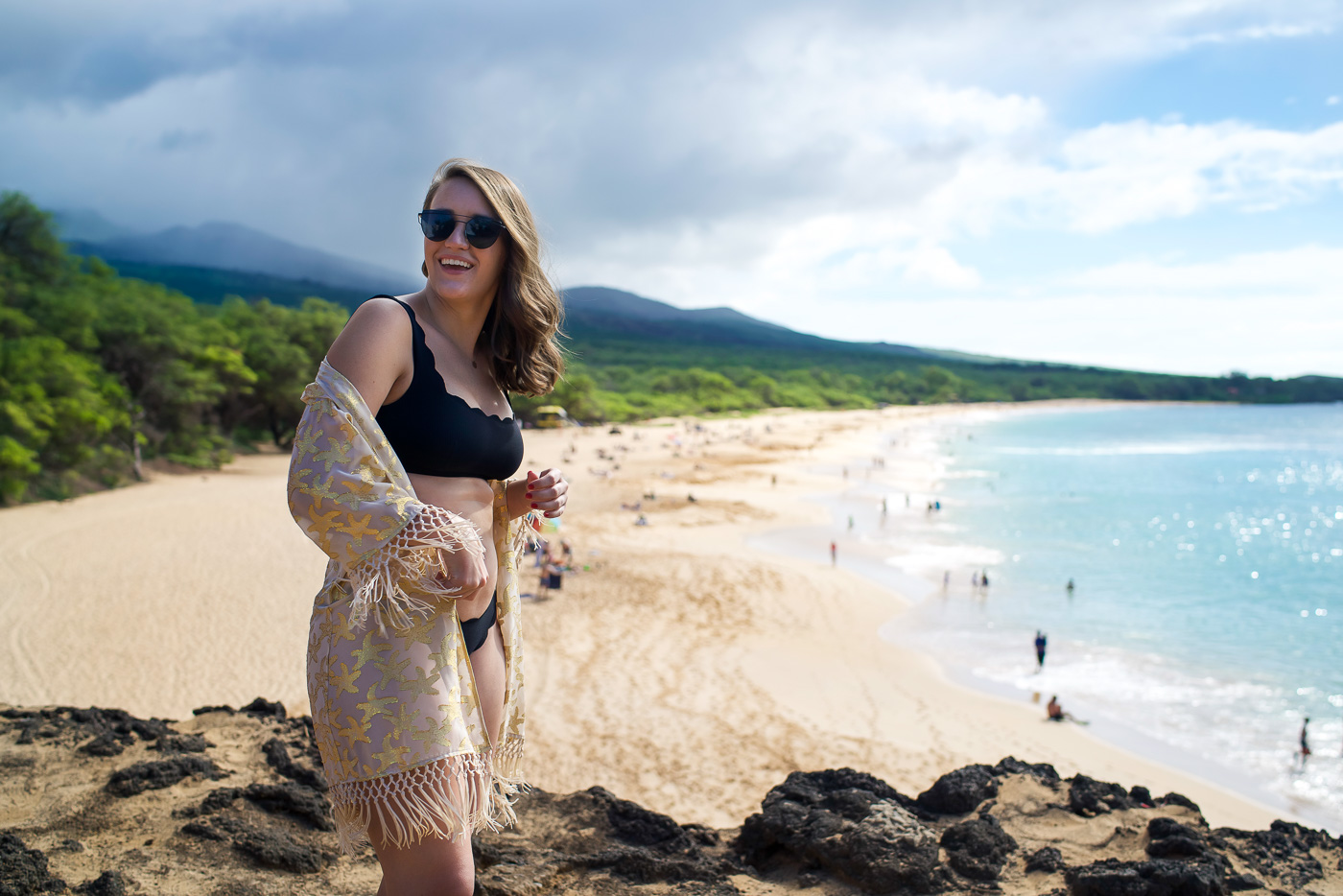 Maui Swimsuits by popular New York fashion blogger Covering the Bases