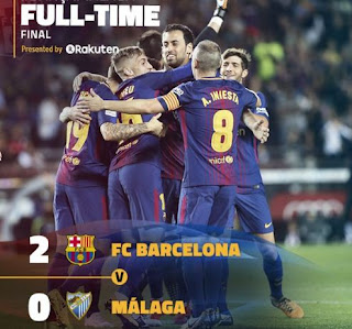 Barcelona vs Malaga 2-0 Highlights