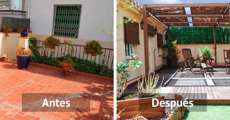 Reformas y mejoras for Nivelar suelo terraza sin obra