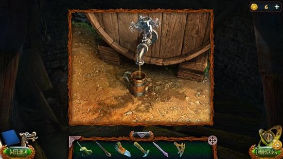 из бочки в кружку наливать ром в игре затерянные земли 4 скиталец