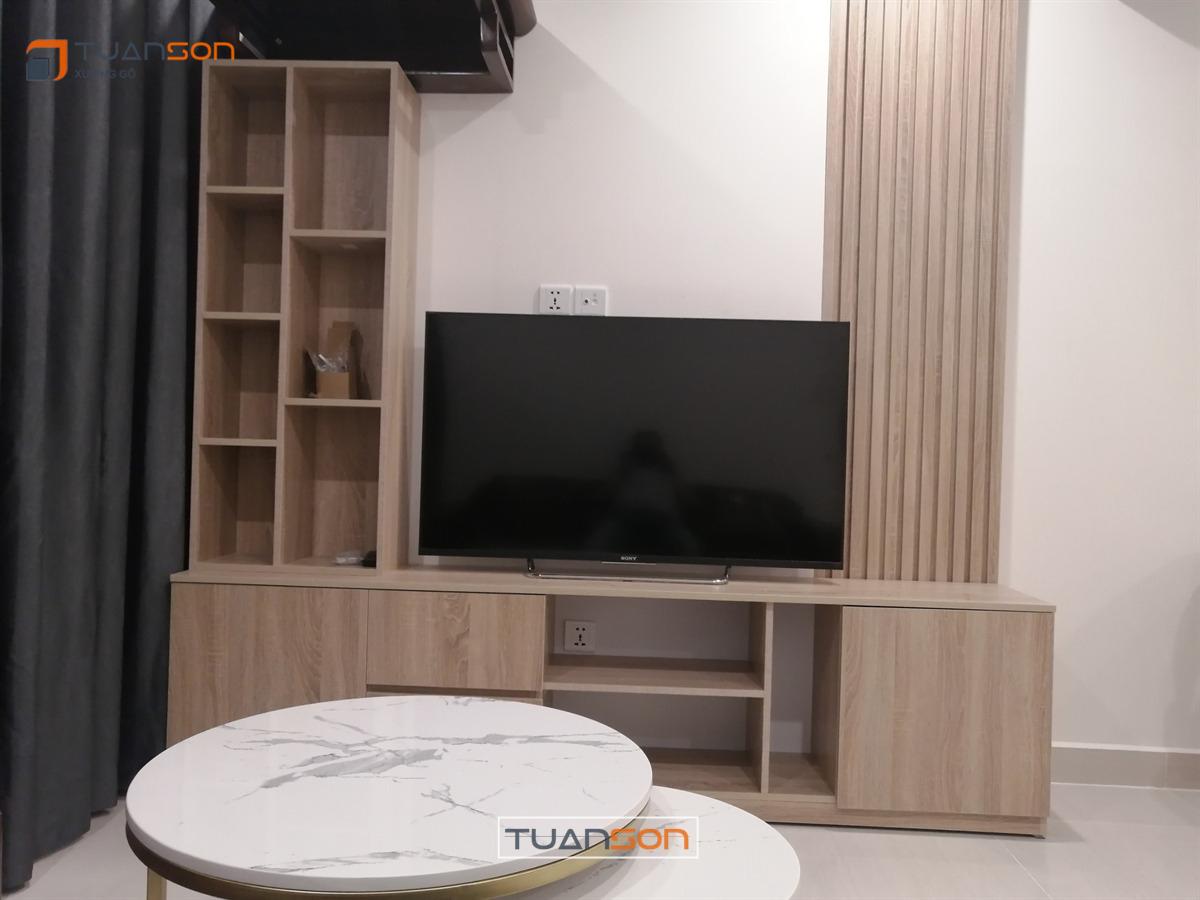 Thi công nội thất căn hộ S1.09-xx20 (2PN+1) Vinhomes Ocean Park Gia Lâm