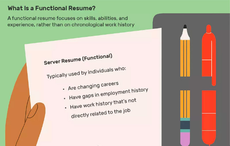 Write A Functional Resume For Better Results