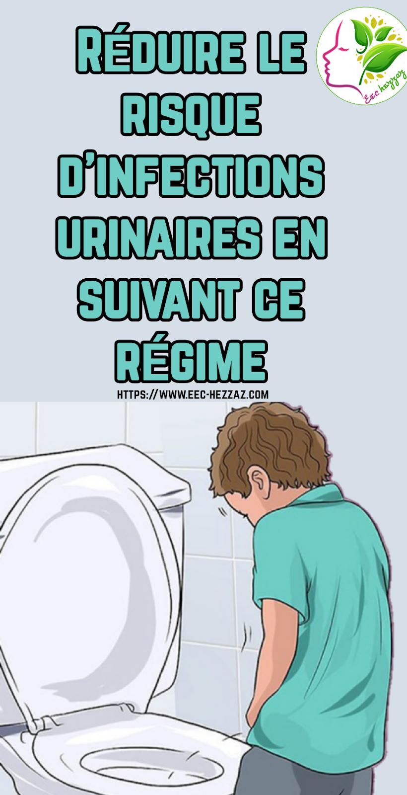 Réduire le risque d'infections urinaires en suivant ce régime