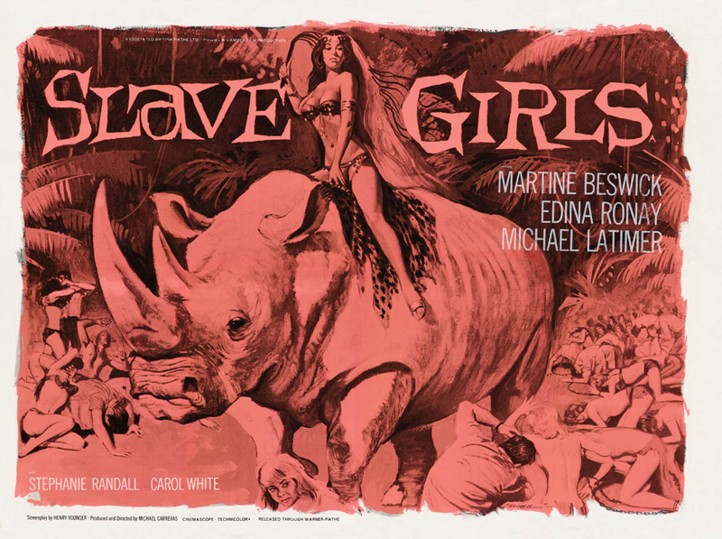 Movie Ramble  Slave Girls  Prehistoric Women  Tuesday  5 February 2013