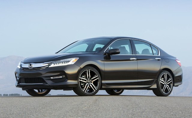 2016 Honda Accord Sport black