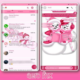 Baby Theme For YOWhatsApp & Fouad WhatsApp By Ave fénix