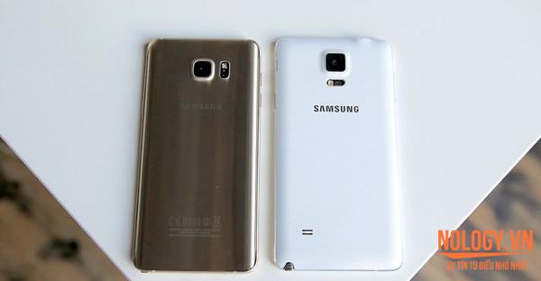 Điện thoại Samsung Note 5 cũ và Note 4 cũ