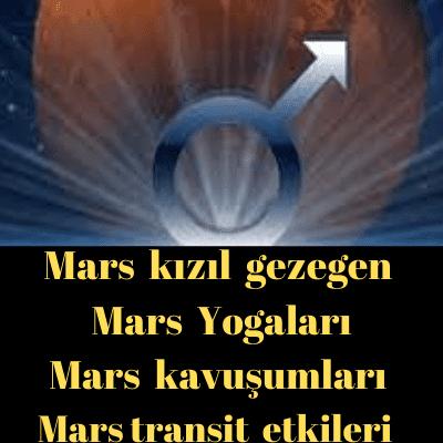 mars vedıc astroloji