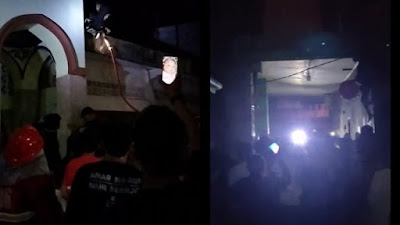 Masjid di Bone Nyaris Terbakar Gegara Korsleting