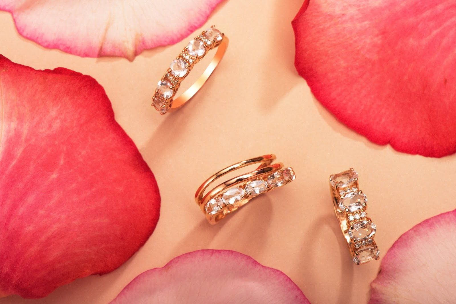 coleção spring rose da joias gold
