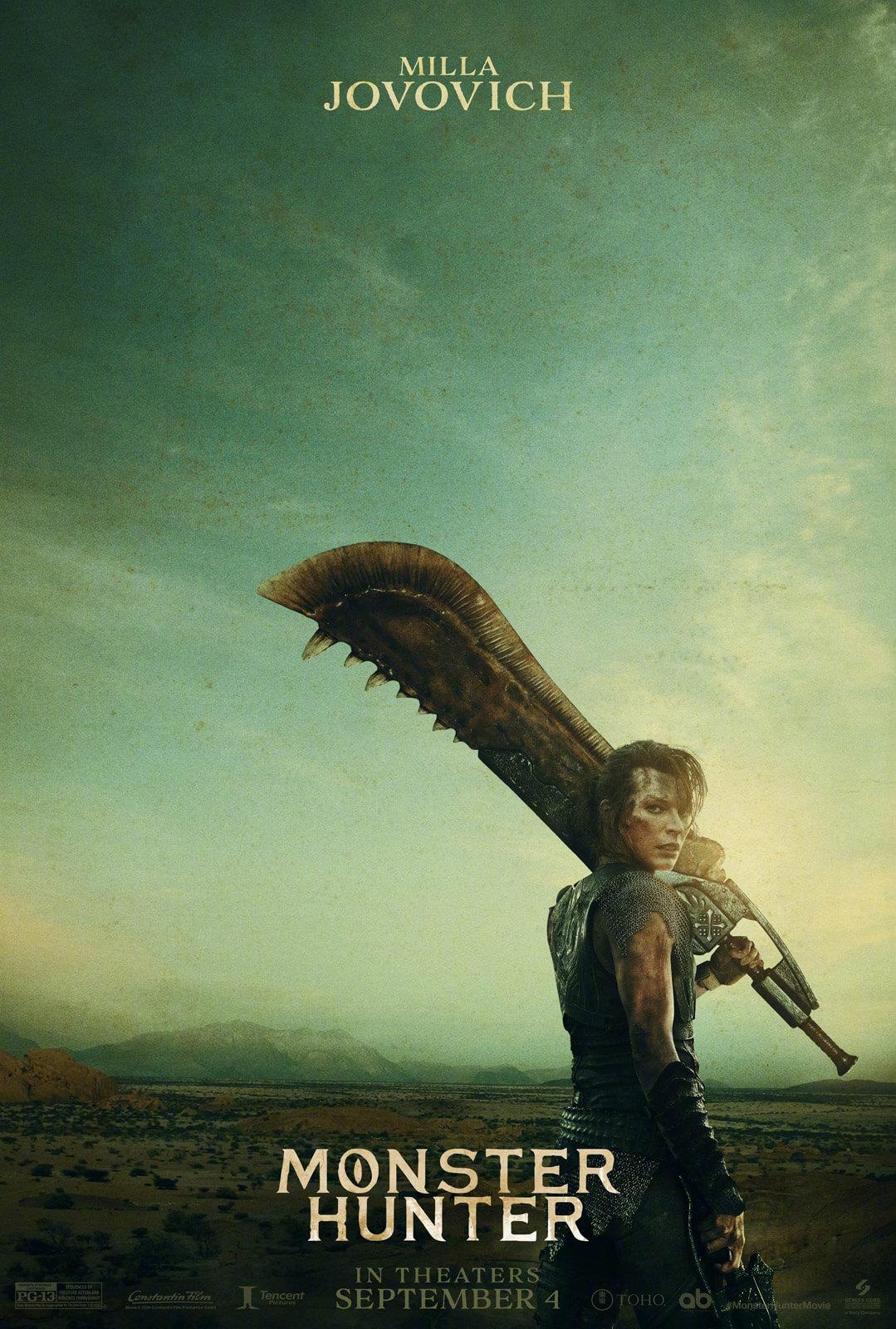 Monster Hunter Movie Teaser Poster Revealed