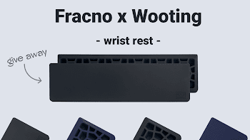 Enter To Win a 5 Wooting Wrist Rest ( Worth Over : +$176)