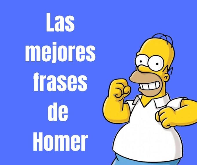 Las mejores Frases de Homer Simpson