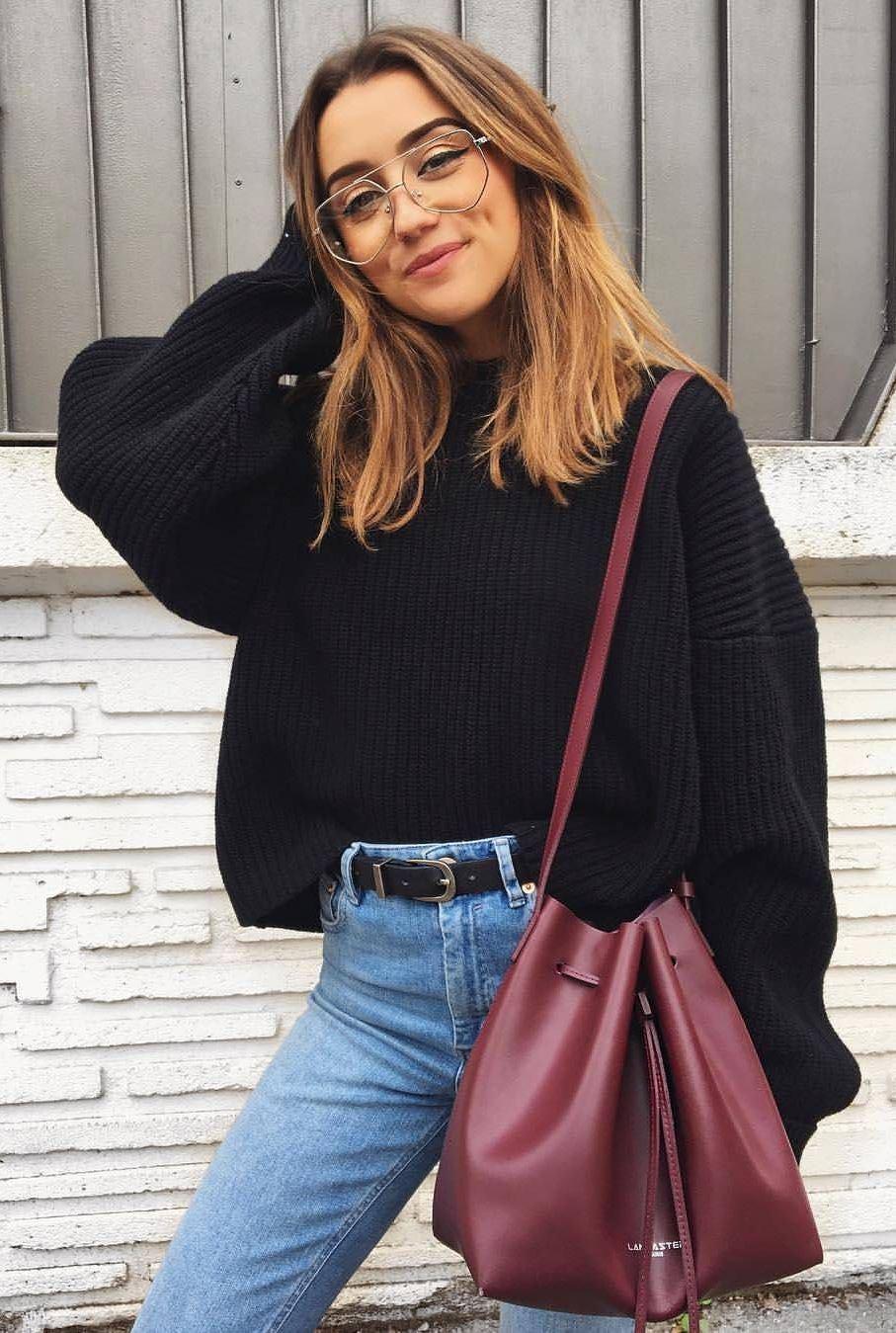 Cute Fall Outfit Idea 2018