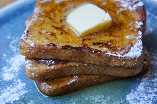 Rezept für glutenfreien Kürbis Pumpkin Spice French Toast