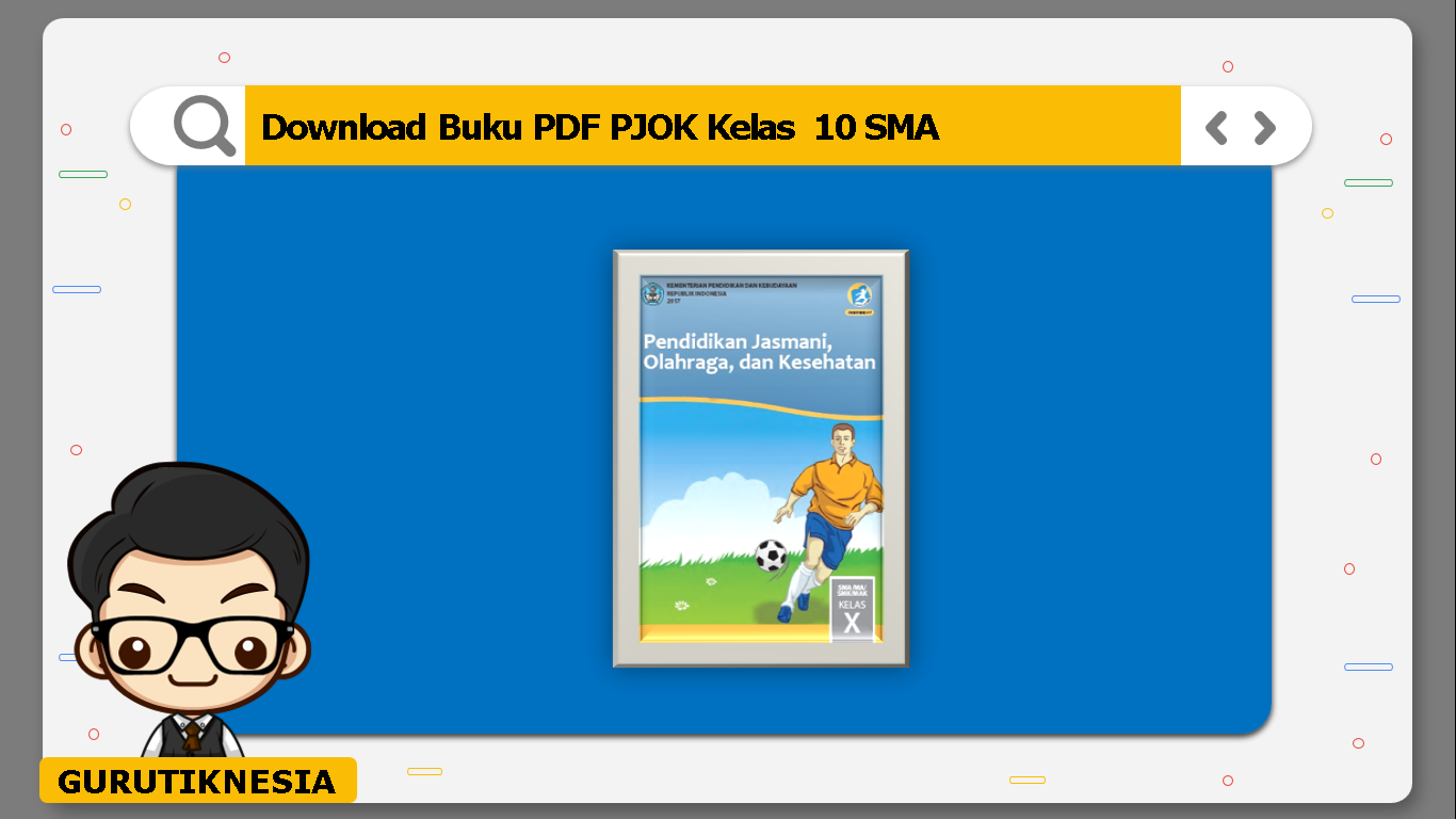 download buku pdf pjok kelas 10 sma/ma