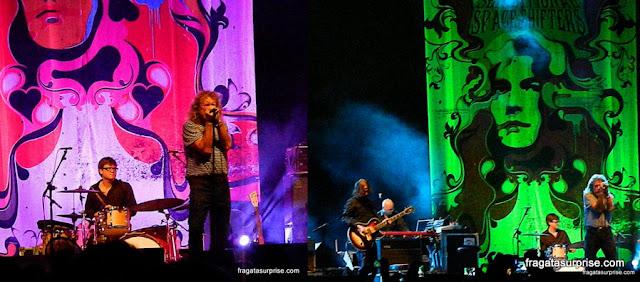 Show de Robert Plant em Brasília
