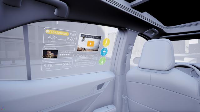Avances en la visualización holográfica para la movilidad